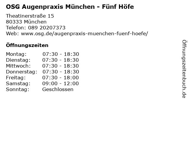 Zarth, Dr. med. Andreas in München: Adresse und Öffnungszeiten