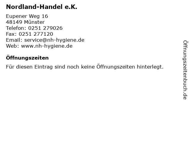 Nordland-Handel e.K. in Münster: Adresse und Öffnungszeiten