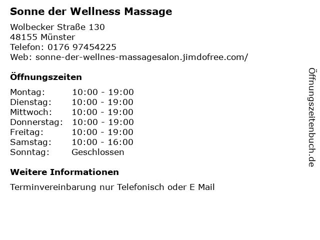 Münster chinesische massage Startseite