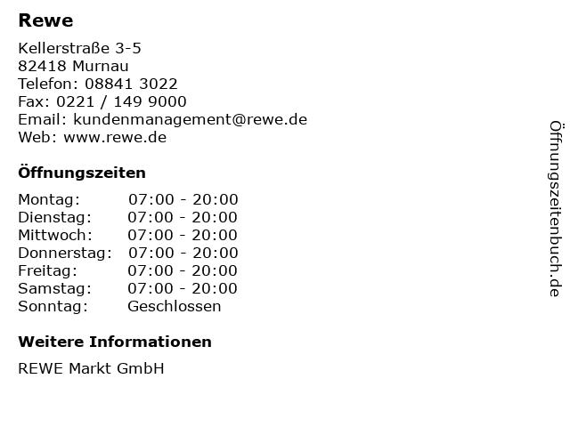 Rewe in Murnau: Adresse und Öffnungszeiten