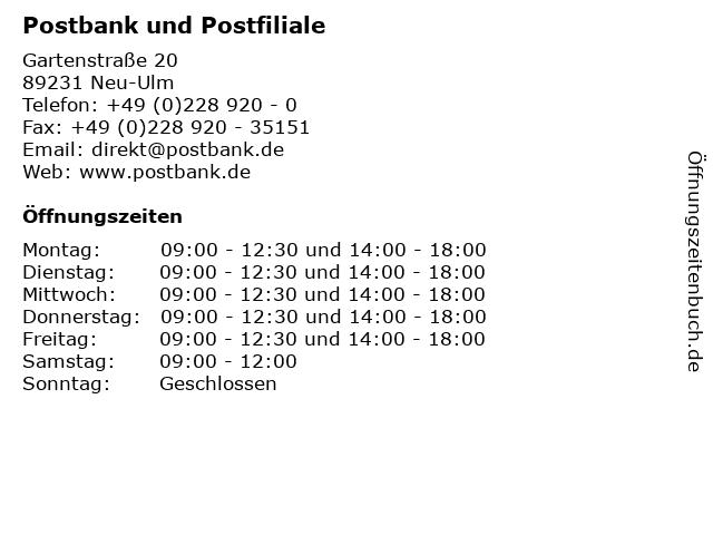 Postfiliale Ulm