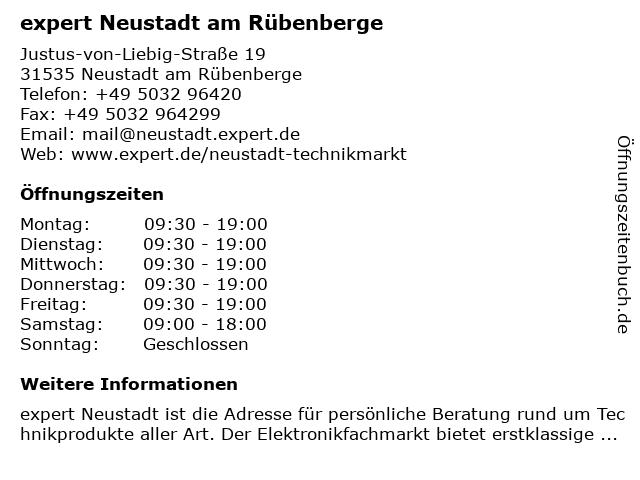 expert Handels GmbH in Neustadt: Adresse und Öffnungszeiten