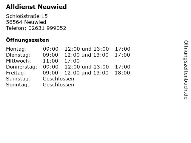 Alldienst Neuwied in Neuwied: Adresse und Öffnungszeiten