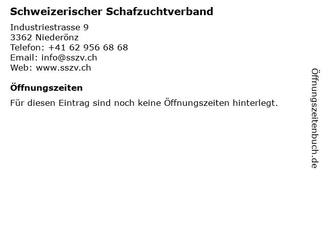 Schweizerischer Schafzuchtverband in Niederönz: Adresse und Öffnungszeiten