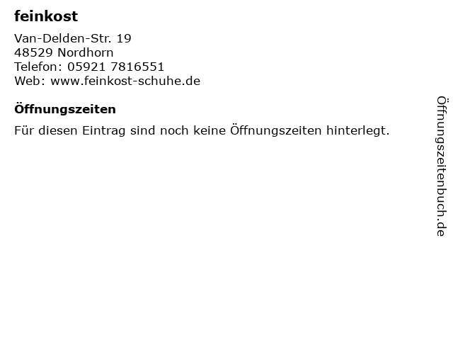 feinkost in Nordhorn: Adresse und Öffnungszeiten