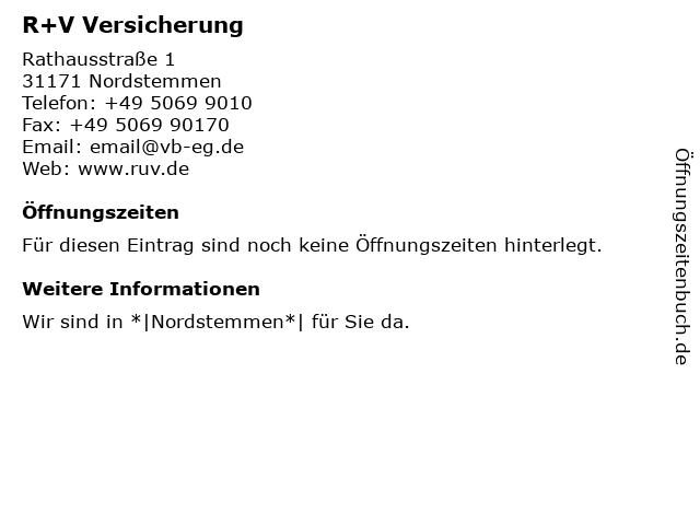 Volksbank eG Hildesheim-Lehrte-Pattensen - (Geldautomat) in Nordstemmen: Adresse und Öffnungszeiten