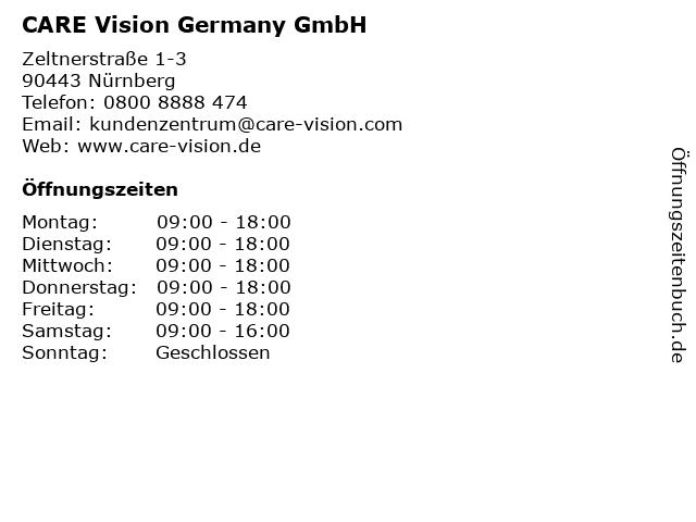 CARE Vision Germany GmbH in Nürnberg: Adresse und Öffnungszeiten