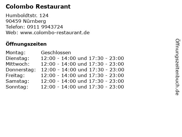 colombo nürnberg