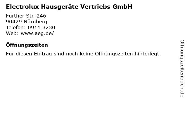 Bilder Zu Electrolux Hausgeräte Vertriebs GmbH In Nürnberg