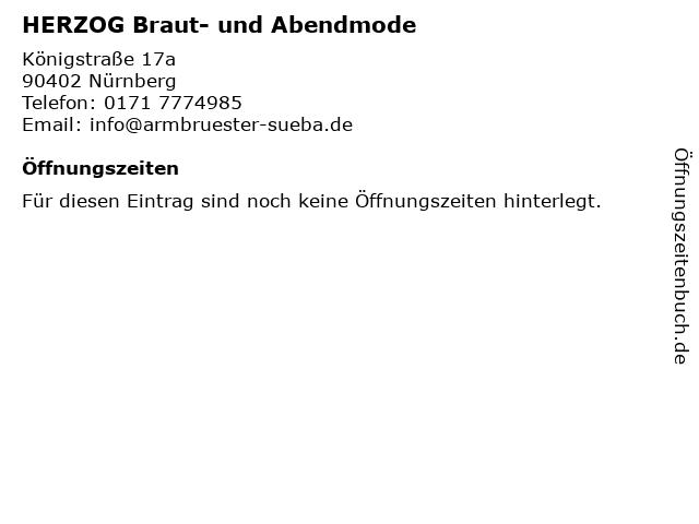 ᐅ Offnungszeiten Herzog Braut Und Abendmode Konigstrasse 17a In Nurnberg