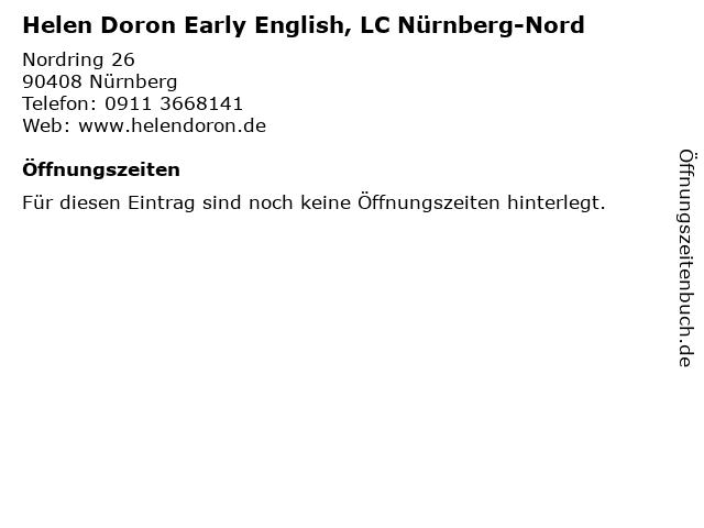 Helen Doron Early English, LC Nürnberg-Nord in Nürnberg: Adresse und Öffnungszeiten