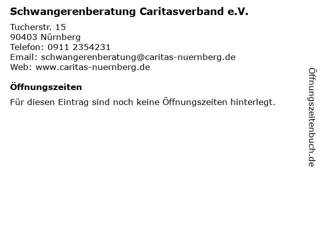Schwangerenberatung Caritasverband e.V. in Nürnberg: Adresse und Öffnungszeiten