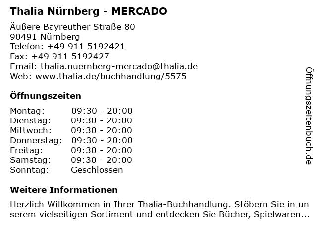 Weltbild Verlag GmbH in Nürnberg: Adresse und Öffnungszeiten