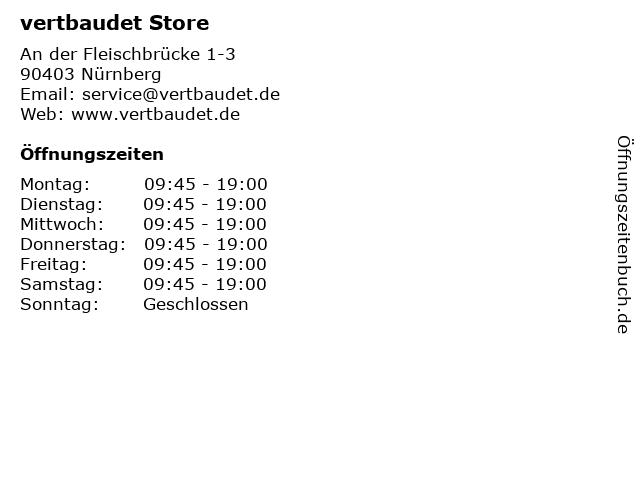 vertbaudet Store in Nürnberg: Adresse und Öffnungszeiten