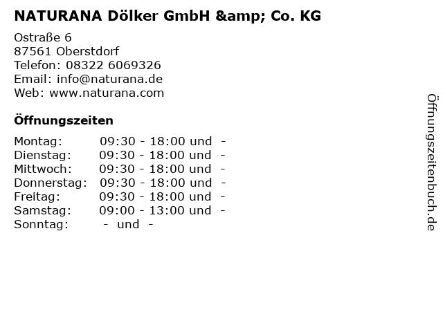 NATURANA Dölker GmbH & Co. KG in Oberstdorf: Adresse und Öffnungszeiten