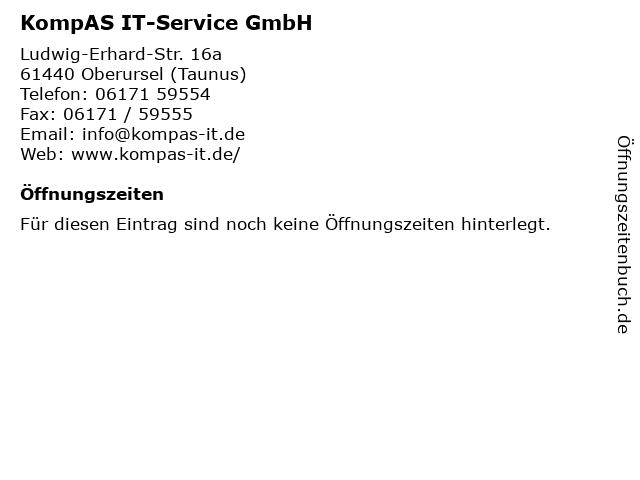 KompAS IT-Service GmbH in Oberursel (Taunus): Adresse und Öffnungszeiten