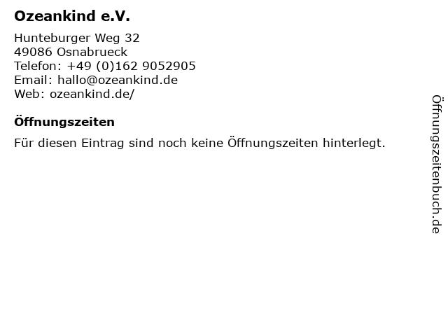 Ozeankind e.V. in Osnabrueck: Adresse und Öffnungszeiten