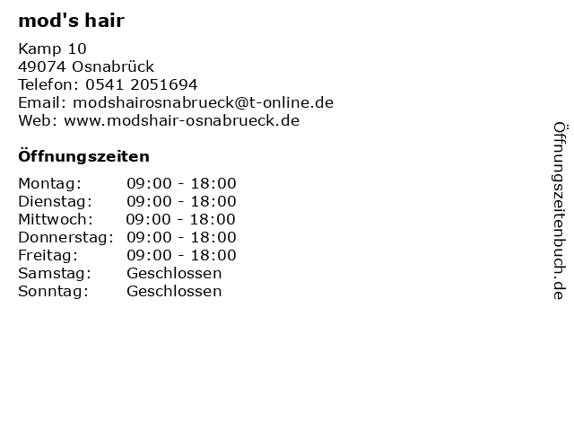 mods hair osnabrück