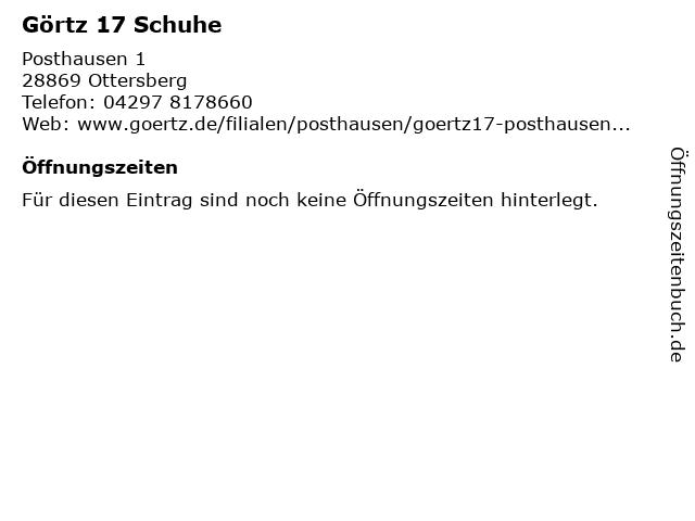 Görtz 17 in Ottersberg: Adresse und Öffnungszeiten