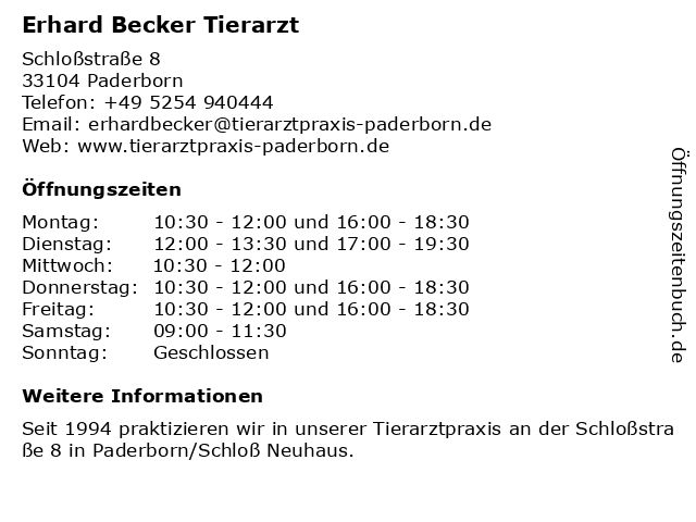 Paderborn Tierarzt