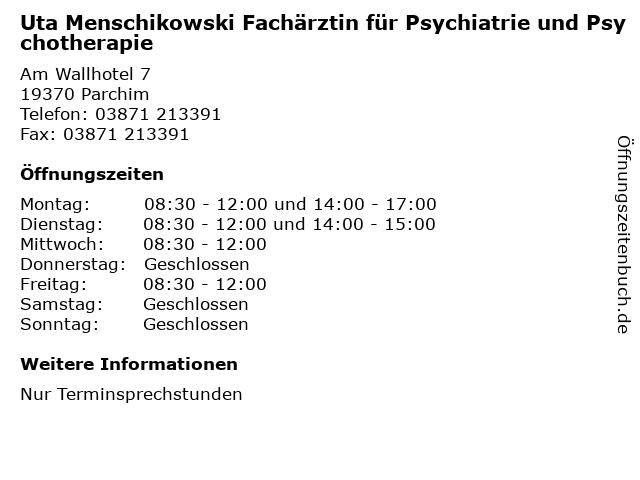 Menschikowski Parchim
