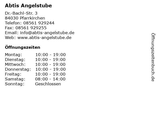 Abtis Angelstube in Pfarrkirchen: Adresse und Öffnungszeiten