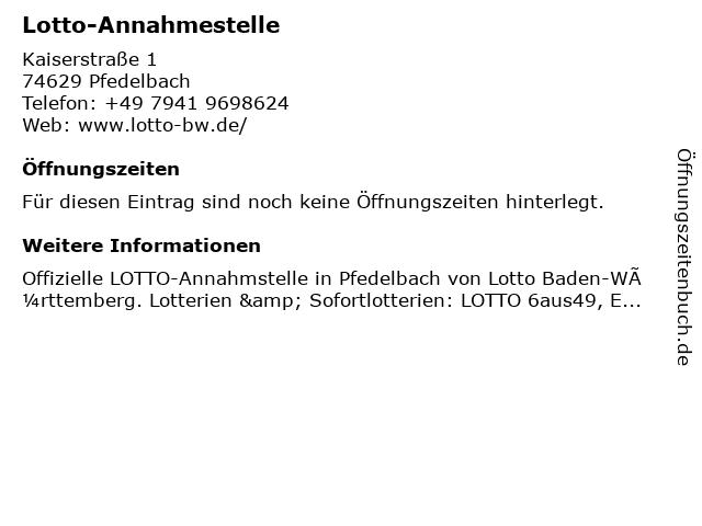 Meckert Schreibwaren in Pfedelbach: Adresse und Öffnungszeiten