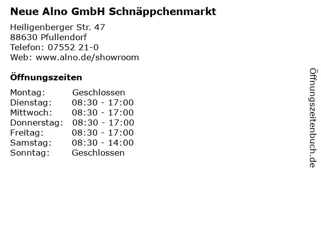 ᐅ Offnungszeiten Alno 2 Wahl Verkauf Hesselbuhl 22 In Pfullendorf