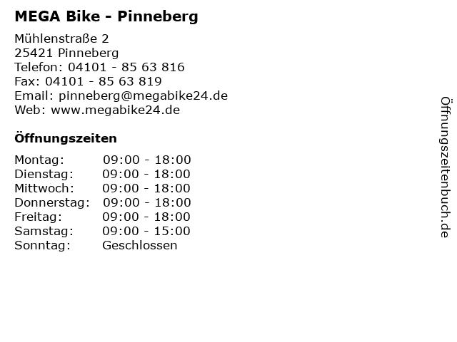 MEGA Bike - Pinneberg in Pinneberg: Adresse und Öffnungszeiten