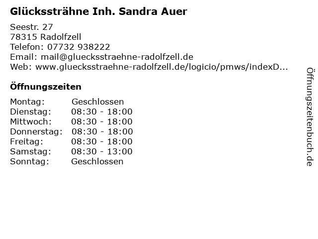 Glückssträhne Inh. Sandra Auer in Radolfzell: Adresse und Öffnungszeiten