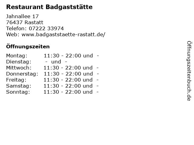 Restaurant Rastatt Neueröffnung