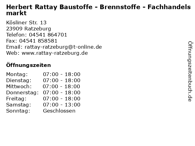 Rattay Ratzeburg