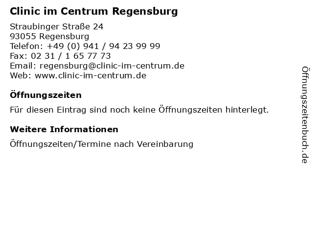 clinic im centrum regensburg