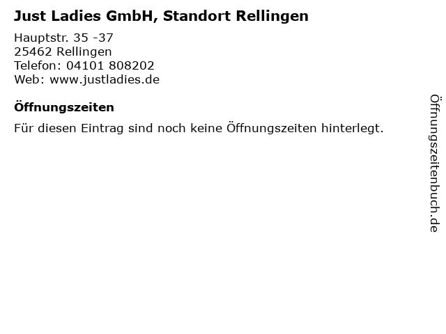 Just Ladies GmbH, Standort Rellingen in Rellingen: Adresse und Öffnungszeiten