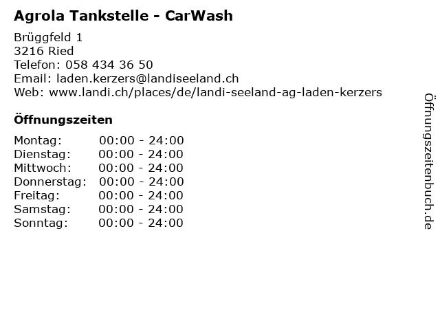Agrola Tankstelle - CarWash in Ried: Adresse und Öffnungszeiten