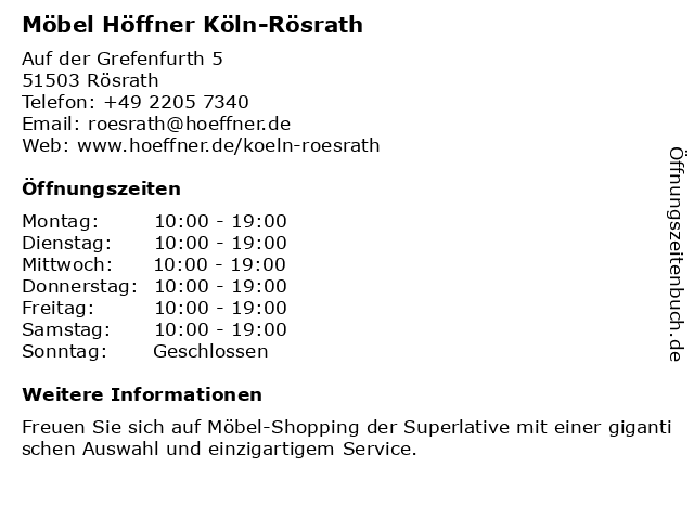 bilder zu mobel hoffner in rosrath