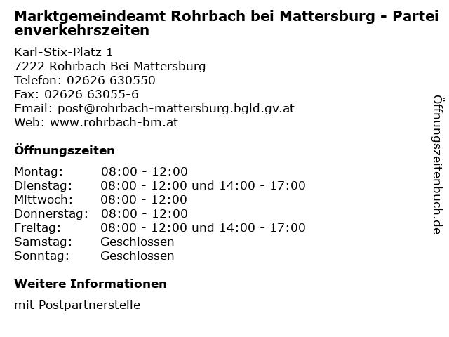 Nette leute kennenlernen rohrbach bei mattersburg - Landeck