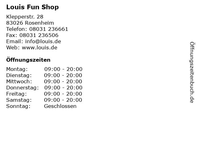 a550284d4d6d3 Bilder zu Louis Fun Shop in Rosenheim