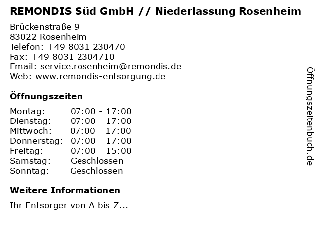remondis rosenheim