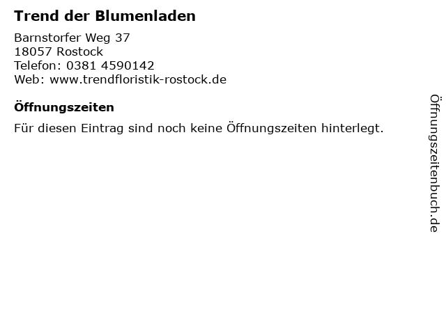 Trend der Blumenladen in Rostock: Adresse und Öffnungszeiten