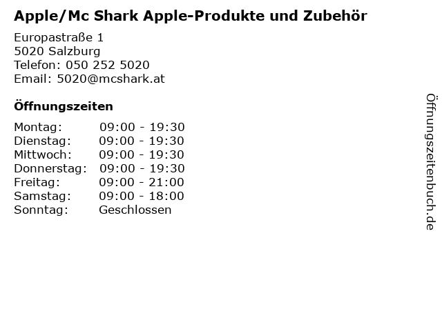 Apple/Mc Shark Apple-Produkte und Zubehör in Salzburg: Adresse und Öffnungszeiten