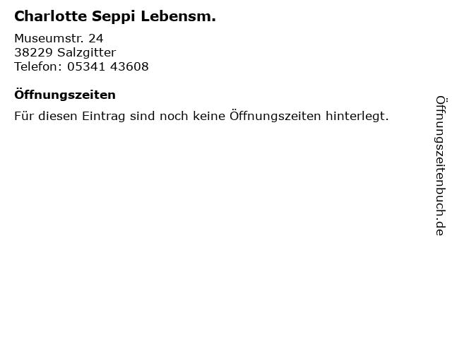 Charlotte Seppi Lebensm. in Salzgitter: Adresse und Öffnungszeiten