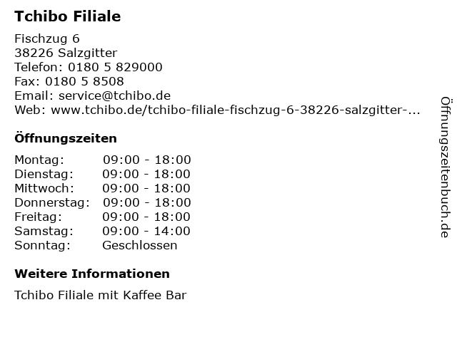Tchibo Filiale in Salzgitter: Adresse und Öffnungszeiten