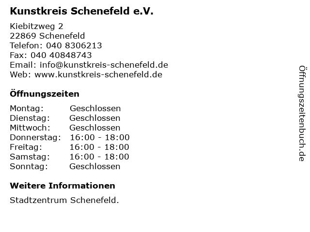 Kunstkreis Schenefeld e.V. in Schenefeld: Adresse und Öffnungszeiten