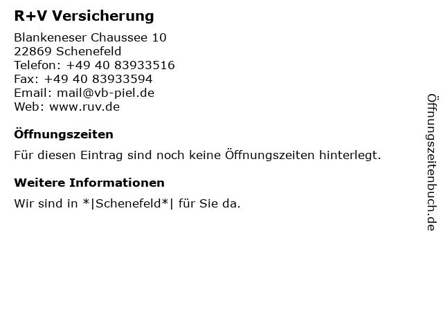 VR Bank in Holstein eG (Geldautomat - Filiale) in Schenefeld: Adresse und Öffnungszeiten