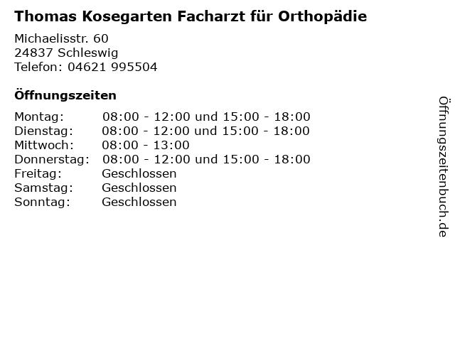 Kosegarten Schleswig