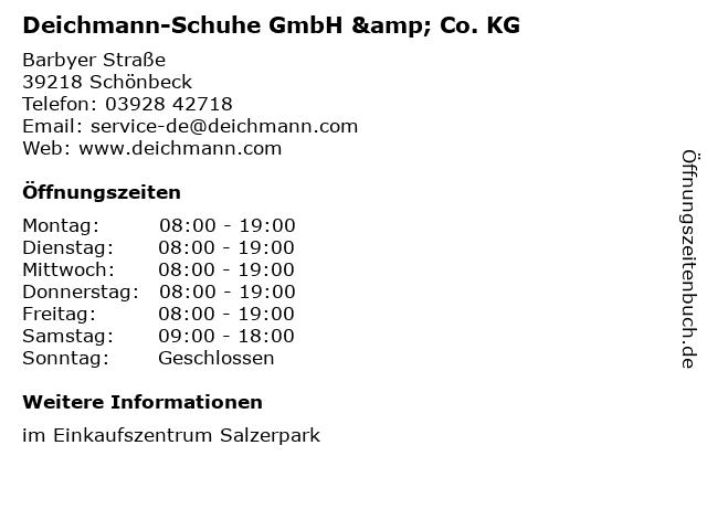 Deichmann-Schuhe GmbH & Co. KG in Schönbeck: Adresse und Öffnungszeiten