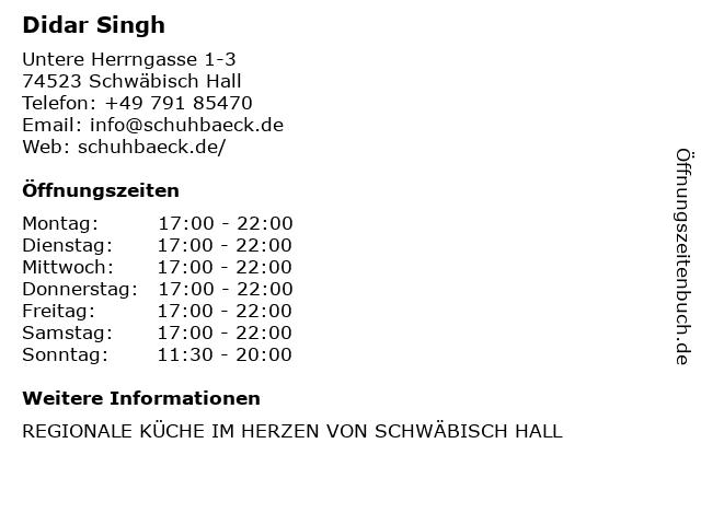 Restaurant la Casa Toscana in Schwäbisch Hall: Adresse und Öffnungszeiten