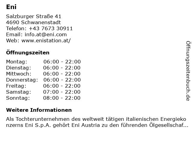 IQ-Tankstelle in Schwanenstadt: Adresse und Öffnungszeiten