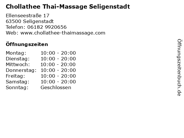 massage seligenstadt